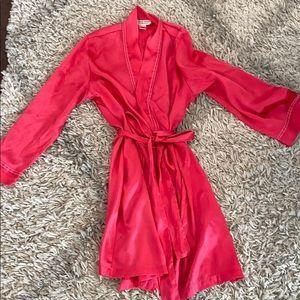 Morgan Taylor Intimates Satin Robe